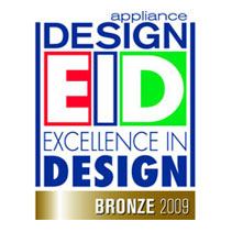 Appliance Design, EID = Excellence in Design, Bronze for small domestic appliances 2009