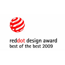 Red dot design award best of the best 2009