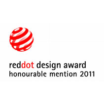 "red dot ""honourable mention"" 2011"
