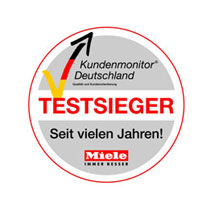 Best customer service award Miele Germany