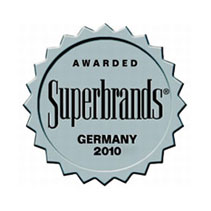 Superbrands 2010 Germany Miele award excellent brand management