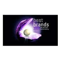 best brands 2007 award Miele Germany
