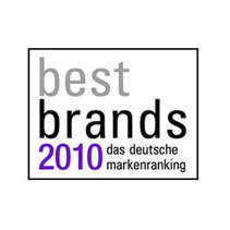 best brands 2010 award Miele Best sustainable brand