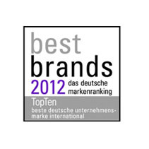 Miele best brands 2012 award corporate brands