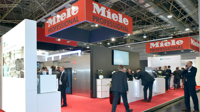Miele Professional Ireland Exhibition and events perfect cleaning results