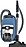 with EcoTeQ floorhead for energy efficient vacuuming with maximum cleaning.--Tech Blue