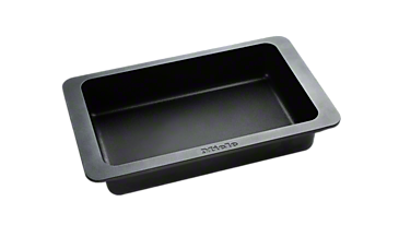 HUB 5001-M - Induction compatible gourmet oven dish For frying, braising and gratinating.--Stainless steel/CleanSteel