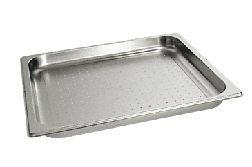 DGGL 12 - Perforated steam cooking containers For blanching or cooking vegetables, fish, meat and potatoes and much more--Stainless steel