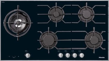 KM 3054-1 - Gas hob with electronic functions for maximum safety and user convenience.--NO_COLOR