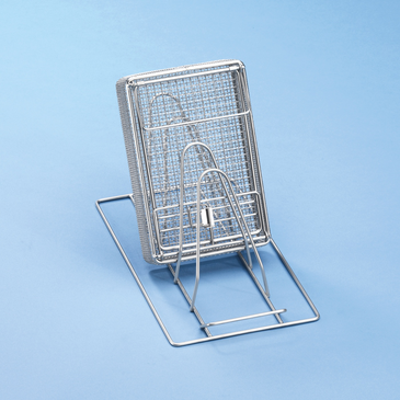 E 807 - Insert for optimum loading of 3 mesh or kidney trays.--stainless steel exterior