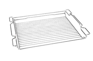 HBR-HCE - Roasting rack with PerfectClean finish.--NO_COLOR