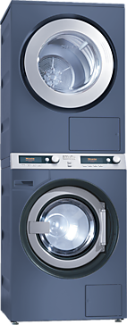 PWT 6089 Vario [EL LP] - Washer-dryer stack for washing and drying in the smallest space, model with drain pump--Octoblue