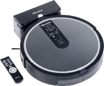 Scout RX1 - SJQL0 - Robot vacuum cleaner with systematic navigation.--Obsidian black