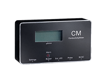 CM - ConductivityMeter For measuring the conductivity level and the display for changing the cartridge.--NO_COLOR