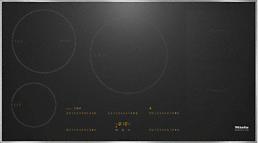 KM 6669-1 - Induction hob with onset controls with TempControl for perfect frying results--NO_COLOR