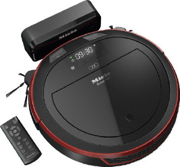 Scout RX2 - SLQL0 00 - Robot vacuum cleaner optimum cleaning performance and app-based control.--Mango red