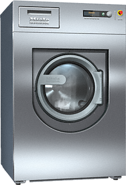 PW 818 [EL WEK] - Washing machine, electrically heated With powder detergent dispenser and freely programmable controls.--Stainless steel