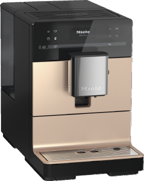 CM 5500 - Countertop coffee machine With OneTouch for Two for the ultimate in coffee enjoyment.--Obsidian black