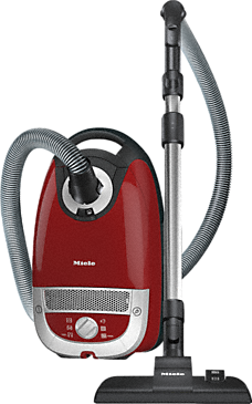 Complete C2 PowerLine - SFAF3 - Cylinder vacuum cleaner with highly efficient motor for energy-efficient vacuuming.--Mango red
