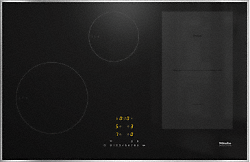 KM 7474 FR - Induction hob with onset controls with PowerFlex cooking area for maximum power output--NO_COLOR