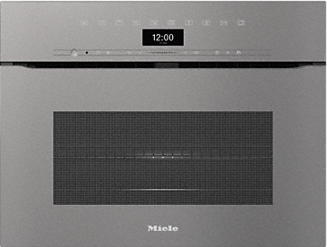 H 7440 BMX - Handleless microwave combination oven with a seamless design, automatic programmes and combination modes.--