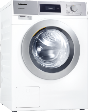 PWM 507 [EL DP] - Professional washing machine, Little Giants, EL heated, with drain pump and target group specific programmes. Capacity 7,0kg in 49min.--Lotus white