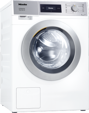 PWM 506 Mop Star 60 [EL DV] - Professional washing machine, electrically heated, with drain valve designed to meet the needs of facility management. Load capacity 6,0 kg.--Lotus white