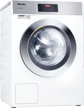 PWM 907 [EL DV] - Professional washing machine, electrically heated, with drain valve and target group-specific programmes. Capacity 7,0 kg in 49 minutes.--Lotus white