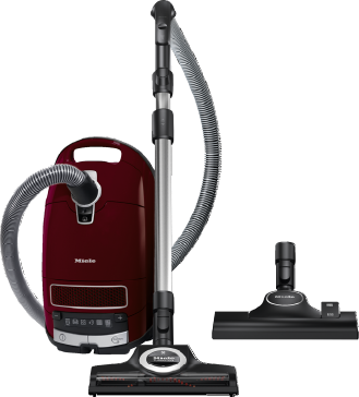 Complete C3 Cat&Dog Pro PowerLine - SGEF3 - Cylinder vacuum cleaner With turbobrush and odour filter; ideal for pet lovers.--Tayberry red