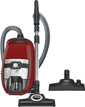 Blizzard CX1 Cat & Dog PowerLine - SKCF3 - Bagless cylinder vacuum cleaners with Turbobrush – ideal for pet owners.--Mango red