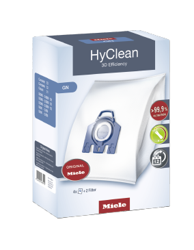 GN HyClean 3D - HyClean 3D Efficiency GN dustbags ensure that dust picked up stays inside the vacuum cleaner.--NO_COLOR