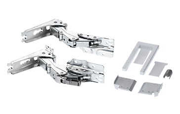 7907341 - Hinges, reinforced  For freezer and refrigerator doors --NO_COLOR