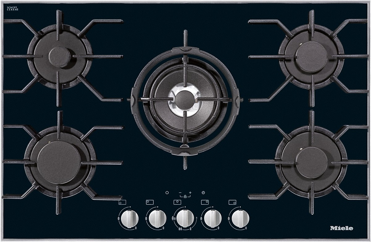 miele hobs and combisets km 3034 gas hob. Black Bedroom Furniture Sets. Home Design Ideas